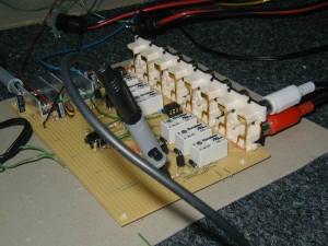Input selector and preamplifier board