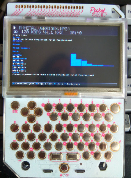 Gmu on PocketCHIP