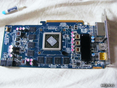 Graphics card w/o heatsink