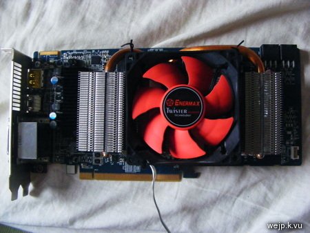 Fixed graphics card