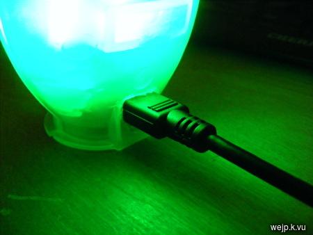 Johannes' Blog - USB controlled SPÖKA night light