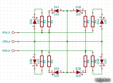 schematic LEDs