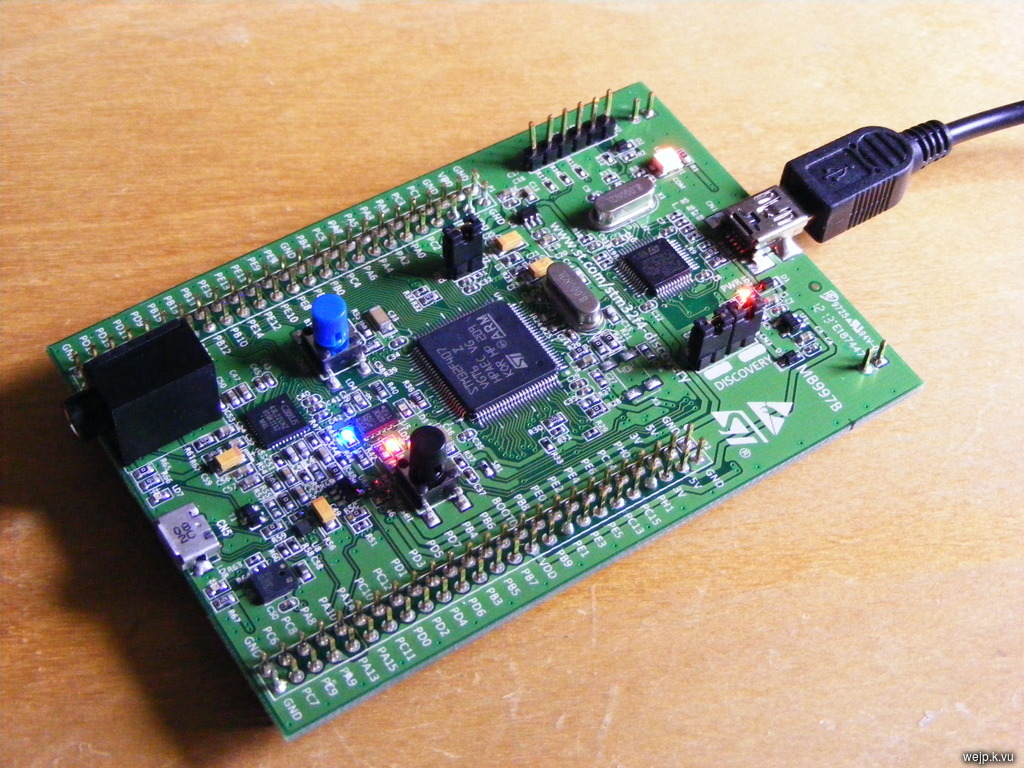 Johannes' Blog - STM32F4-Discovery board review